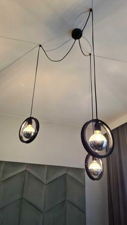 Lampa sufitowa 3 punkty loft