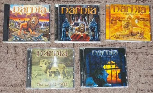 NARNIA - dyskografia 1998 do 2006 (5 CD)