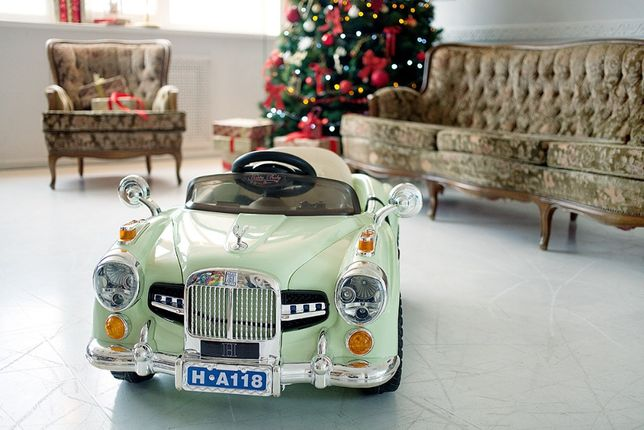 Детский ретро электромобиль R-13 Rolls Royce