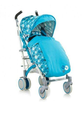 Коляска-трость BabyHit Rainbow D 200 Blue Grey
