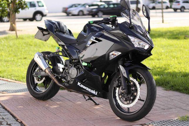 Kawasaki Ninja 400 FULL EXTRAS Irrepreensível