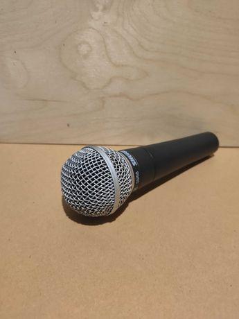 Mikrofon SHURE SM58 + statyw + filtr mikrofonowy + Kabel Klotz 5m