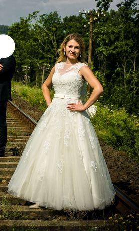 Suknia Ślubna r. 38 SPOSABELLA