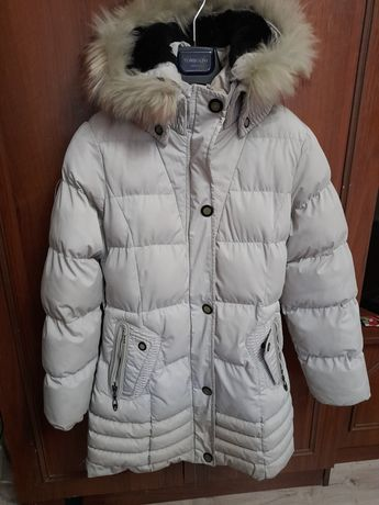 Женский пуховик зима
