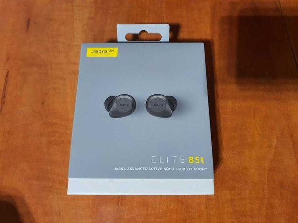 Jabra Elite 85t Titanium, słuchawki bezprzewodowe TWS