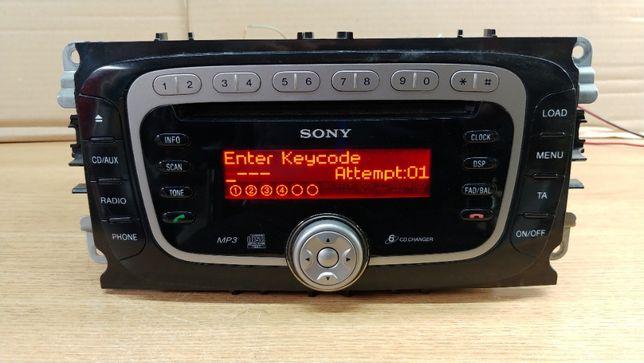 Radio Sony MP3 6CD Kod Gwarancja