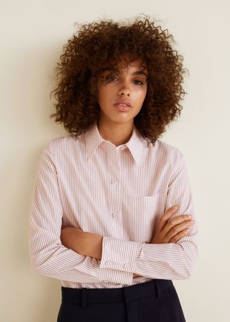 Блузка рубашка Mango L
