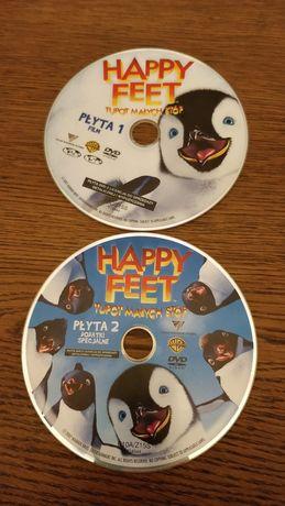 Bajka DVD Happy Feet Tupot małych stóp