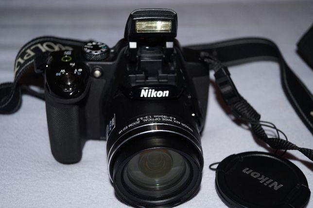 Nikon Coolpix P 520 zoom optyczny 42x