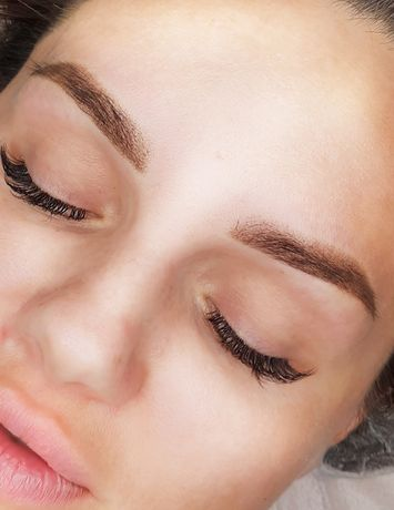 Перманентный макияж,обучение, пудровые брови