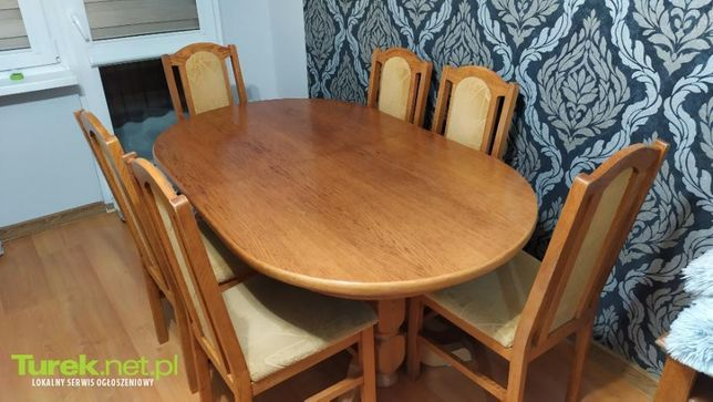 Sprzedam stół krzesła
