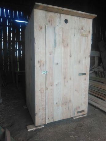 WC drewniane