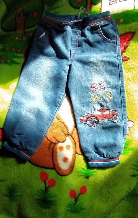 Джинсы для мальчика на 4-5лет Турция 200 гривен Бердянск - изображение 1