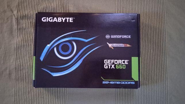 Видеокарта GTX660 Gigabyte