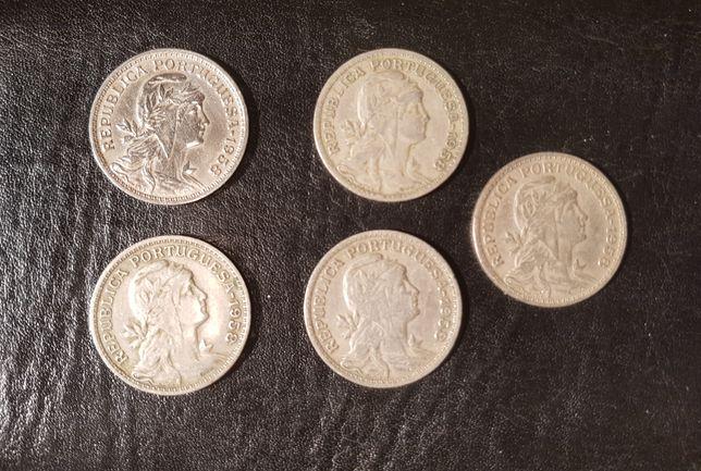 Moedas 50 Centavos 1958 (Muito Bom Estado)