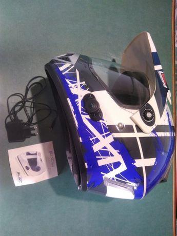 Kask motocyklowy,krosowy,quad blinc g2 z systemem bluetooth