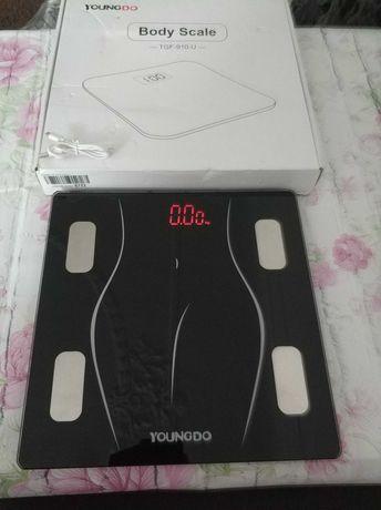 Waga Łazienkowa Bluetooth BMI YoungDo TGF 910U tkanki tłuszczowej