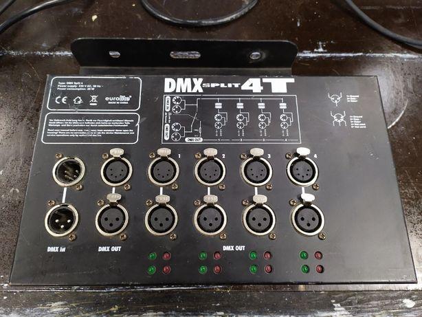 Eurolite DMX Split 4T splitter rozdzielacz
