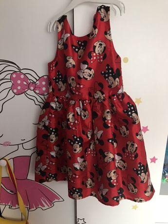 H&m sukienka Myszka Minnie 128