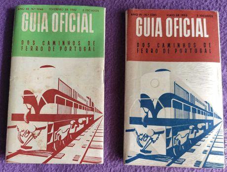 Guia Oficial CP (2 ex. Fev./62 e Maio/65)