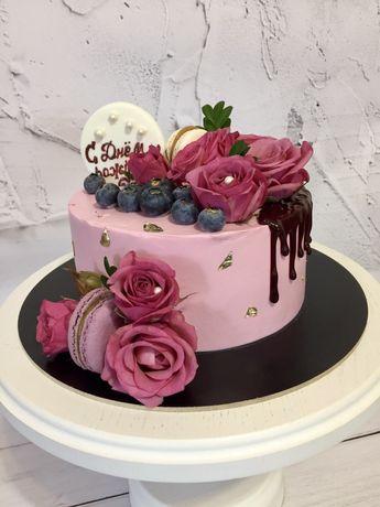 Натуральные торты и десерты на заказ Киев