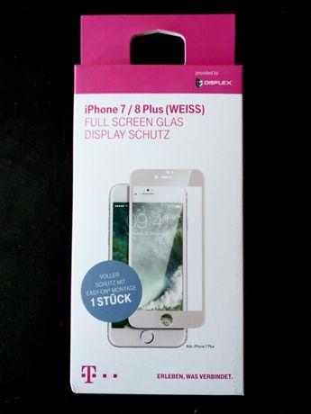 NOWA szyba ochronna do iPhone 7 Plus i 8 Plus