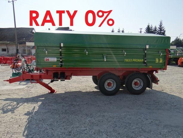 Przyczepa rolnicza PRONAR T663/2 T663/1