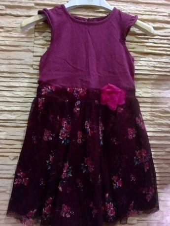 Śliczna sukienka na lato r.98/104