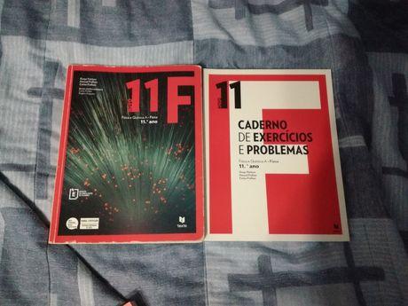 Novo 11F Física - Livro + Caderno de Exercícios e Problemas