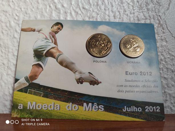 Moeda mês de Julho Euro 2012