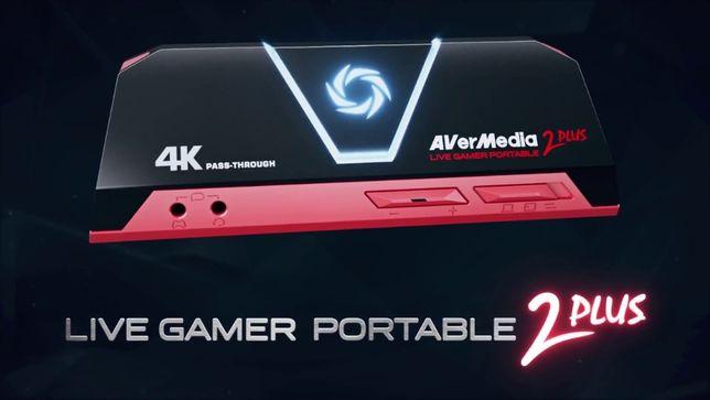 Карта Видеозахвата AVerMedia Live Gamer PORTABLE 2 Plus GC513