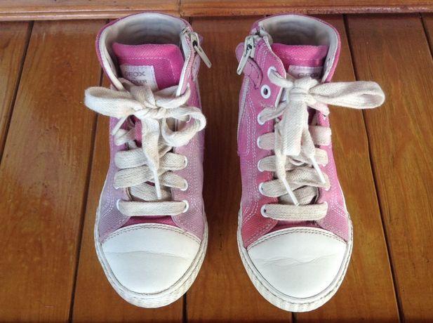 Детские кеды кроссовки Geox. Размер 30. Стелька 19 см.