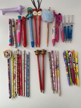 Canetas e lápis / Esferográficas e lápis de minas/ caneta p/ telemóvel