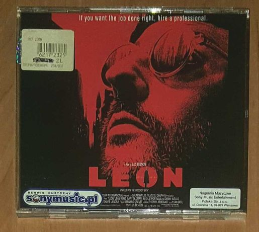 O.S.T.  Leon Zawodowiec Eric Serra CD Album Soundtrack oryginał bdb