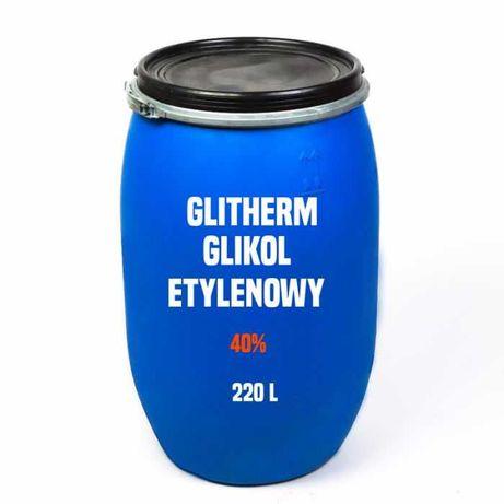 Glikol etylenowy 40 % (Glitherm - 25 °C) beczka 220 l – Kurier