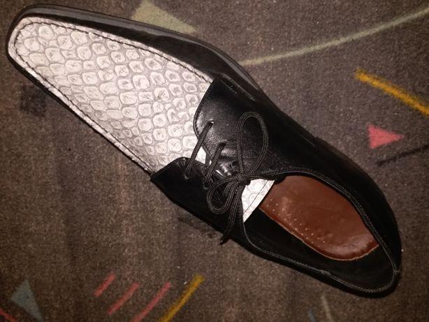 Итальянские модельные туфли Sandro G. 47 размер, 32 см