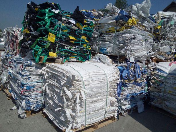 Worki Big Bag 100/100/170cm stabilizacja kształtu udzwig 1300kg
