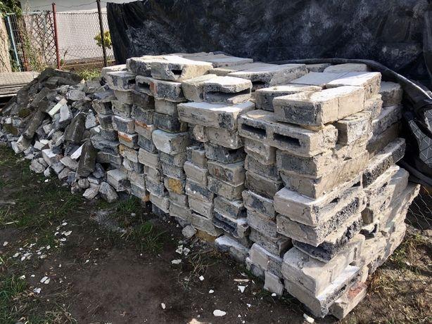 Oddam gruz ok. 6m3, betonowy pustak, Zielona Góra-Przylep