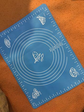 Силиконовый коврик для выпечки для раскатки теста с размерами