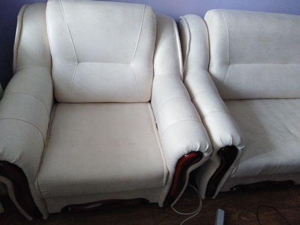 Мякий куточок 2 крісла великих та диванчик