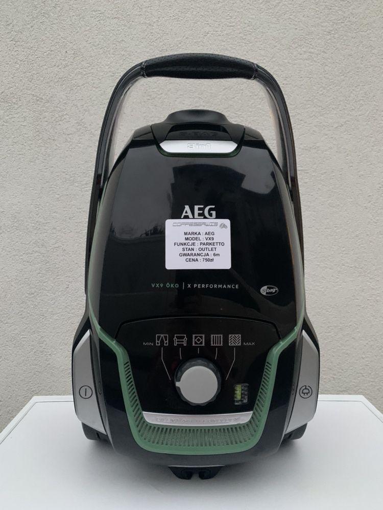 Odkurzacz workowy AEG VX9 PARKETTO gwarancja