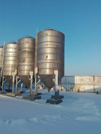 емкость нержавеющая резервуар бочка н/ж 20 м.куб. пищевая