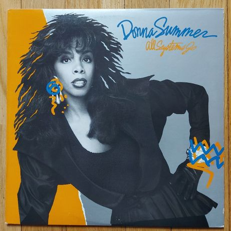 Donna Summer, All Systems Go, USA, 1987, Ideał- (M-)