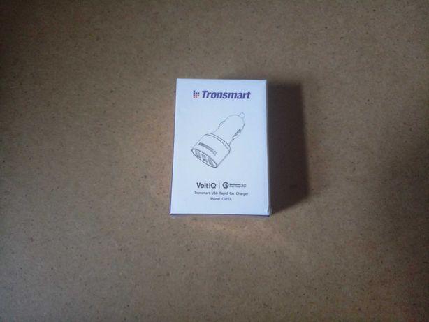 Tronsmart C3PTA авто зарядное 3 USB быстрая зарядка (42 Вт)