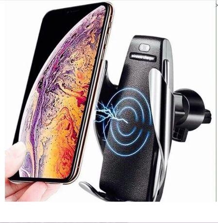 Держатель для телефона в авто Smart Sensor S5 беспроводная зарядка