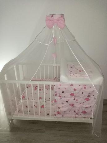 Sprzedam drewniane łóżeczko dla dziecka