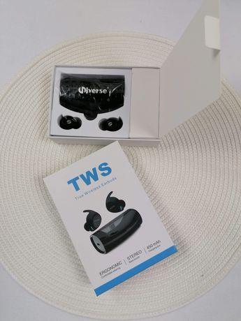 Słuchawki bezprzewodowe, bluetooth wbudowany mikrofon NOWE