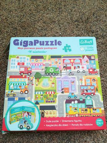 """Puzzle podłogowe """" W miasteczku"""""""