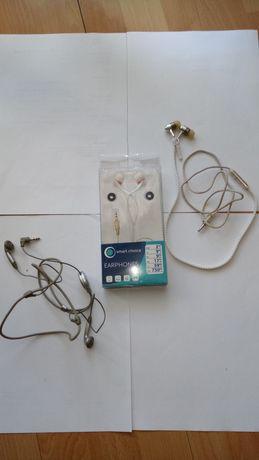 3 Słuchawki przewodowe do mp3, radia, telefonu, laptopa