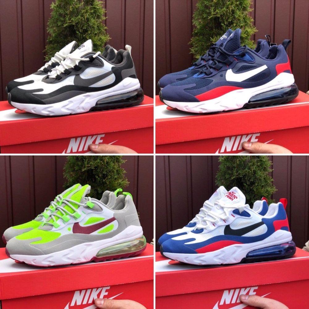 Мужские кроссовки Nike airmax 270 react найк аирмакс 270 реакт